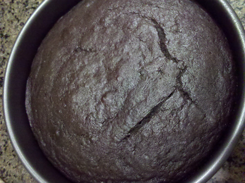 Cooked Banana Chocolate Cake