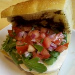 Fresh Bruschetta Sandwich