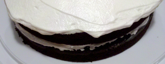 Dark Chocolate Banana Cake