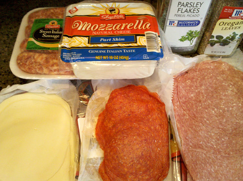 Stromboli Ingredients