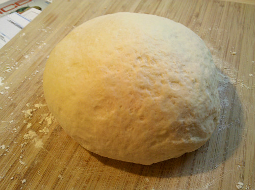 Alton Brown dough ball