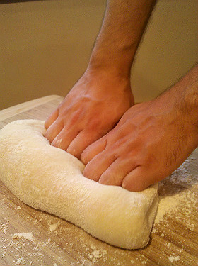 Kneed dough