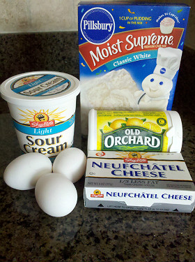 Lemonade Cupcakes Ingredients