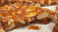 Cashew Brittle - salty, crunchy, and sweet. This recipe is quick and easy to make at home.