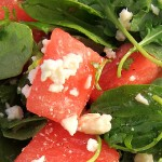 Arugula Feta Watermelon Salad