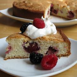 Berry Delicious Almond Cake