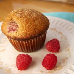 Strawberry Raspberry Muffin