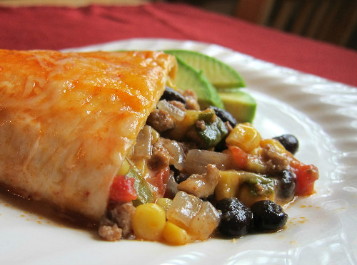 Turkey Enchilada