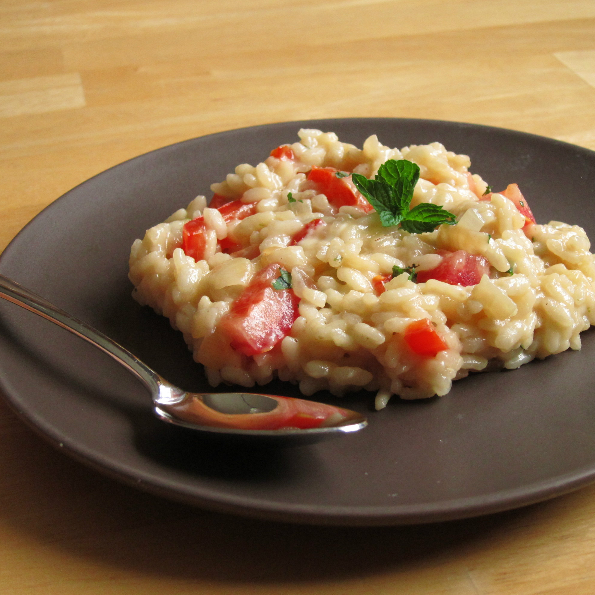 recipe: tomato and feta risotto [11]