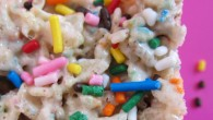 The ooey gooey marshmallowy goodness you expect from a Rice Krispie Treat, incorporating the flavor of pure unbridled cake batter.