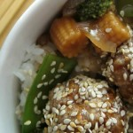 Sesame Ginger Turkey Meatballs