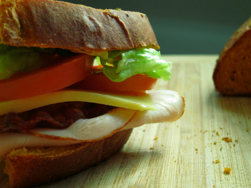Panera Bacon Turkey Bravo