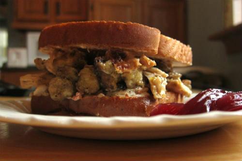 Thanksgiving Turkey Sandwich