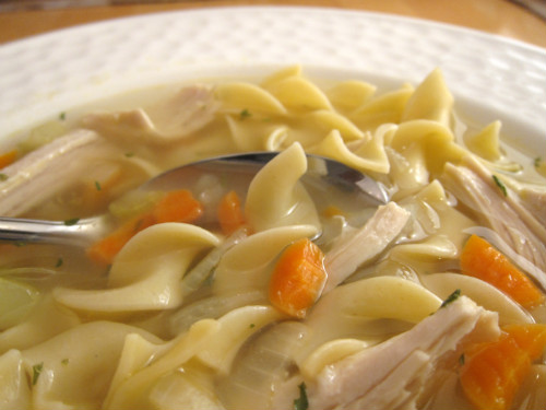 turkey noodle soup keep that turkey carcass after turkey noodle soup ...