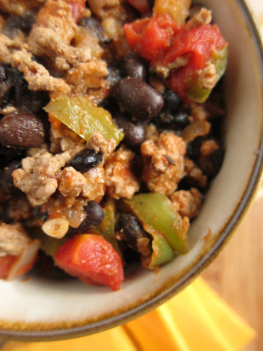 Black Bean Turkey Chili Recipe — Dishmaps