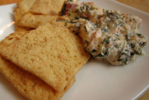 ... baked hummus and spinach dip recipes dishmaps baked hummus and spinach
