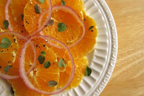 italian orange salad