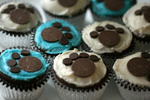 puppypaws cupcakes