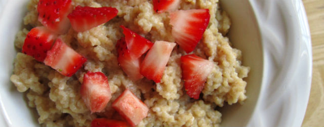Creamy Couscous Breakfast Pudding