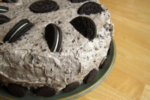 30th Birthday Oreo Cookies and Cream Cake