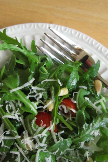 simple arugula salad