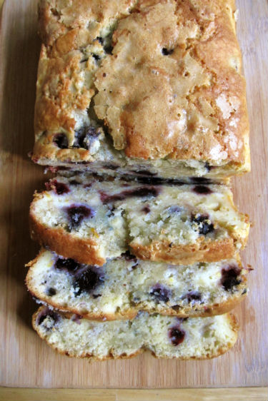blueberry cream chese bread