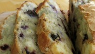 A delicious, moist, blueberry cream cheese bread.
