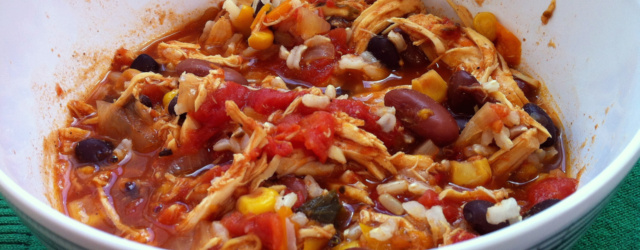 slow cooker chicken chilli