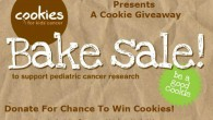 Be A Good Cookie! Donate to Cookies for Kids Cancer for a chance to win cookies!