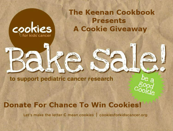 Cookies for Kids Cancer Giveaway