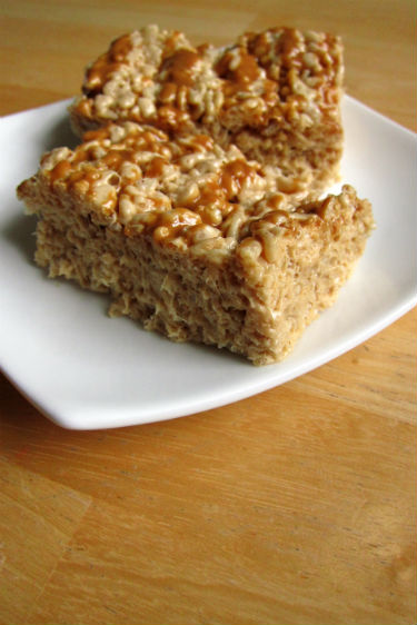 biscoff rice krispies