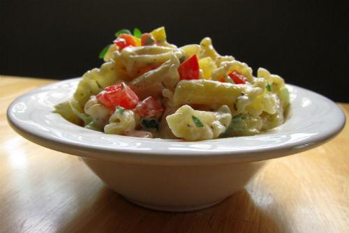 savory pasta salad