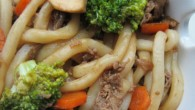 Quick and easy stir fry! You could easily substitute in other vegetables if broccoli and carrots are not your thing. Udon is a Japanese-style thick wheat noodle and can be...